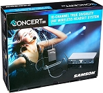 Samson Concert 88 Fitness System with Headset Microphone (K Band)