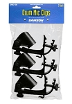 Samson DMC100 Drum Microphone Clips - 3 Pack
