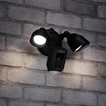 Ring Motion Detected Floodlight Security Cam (Black)
