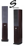 Suber Electronics Home Theater Floor Standing Speakers, Metallic Cherry