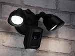 New Ring Floodlight Motion Activated Security Cam Camera - Black