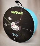 Shure SE215DYCL+UNI Wired Sound Isolating In-Ear Headphone, Clear